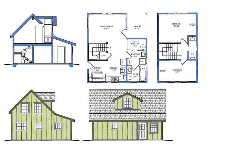 Impressive Small Tiny House Plans 800 x 515 · 34 kB · jpeg